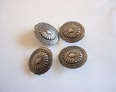 Vintage concho button (bag of 4)