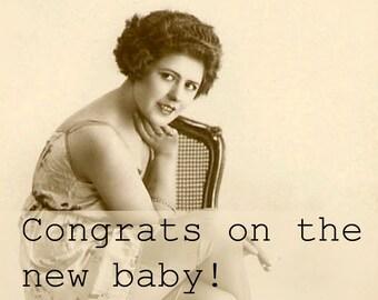 Use Birth Control. Funny Pregnancy Card. Funny New Baby Card. Snarky Pregnancy Card. Snarky New Baby Card. Sarcastic Pregnancy Card.