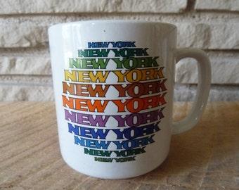 Vintage New York Mug