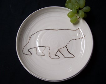 Big Grizzly Bear dish
