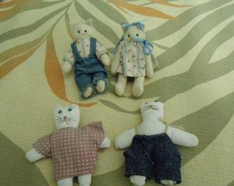 Small Cloth Kittens