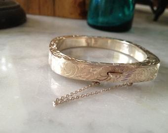 Beautiful Vintage 925 Silver Bracelet