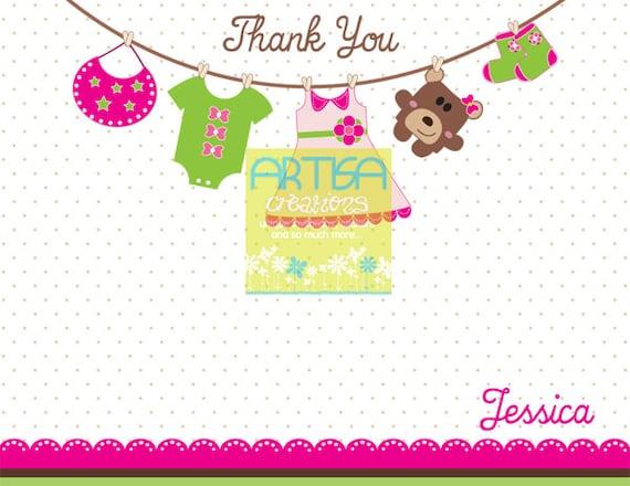 Caliente rosa verde lima y Brown niña bebé | Etsy