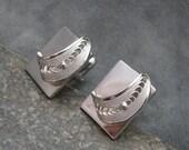 Vintage Cufflinks Filigree H409