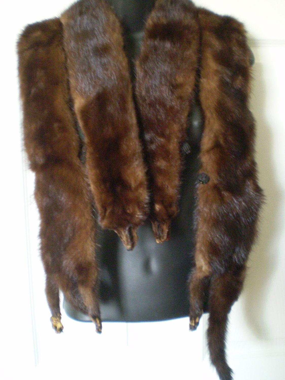 Vintage Mink Stoles 8