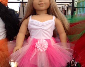 American Girl Doll Tutu Pink Tutu