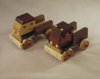 1 Toy Truck  wooden Handmade.Cute as a bug. Perfect for the little ones