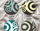 """Mod Elements - Interchangeable Magnetic Design Inserts - FIT Clique and Magnabilities 1"""" Jewelry Bases...300"""
