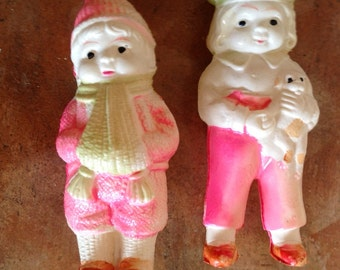 Vintage Celluloid Figurines/Toys/Dolls- Made in Japan