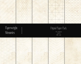 Barely There - Instant download - Digital Papers - digital scrapbooking - patterned paper  & textured paper - CU ok - Digital background