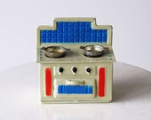 Vintage Tin Toy Stove 1970s