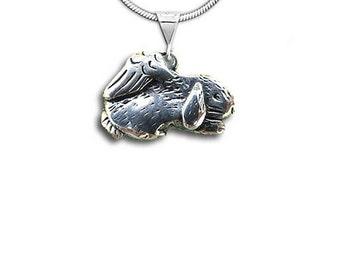 SS Sleeping Rabbit Angel Pendant