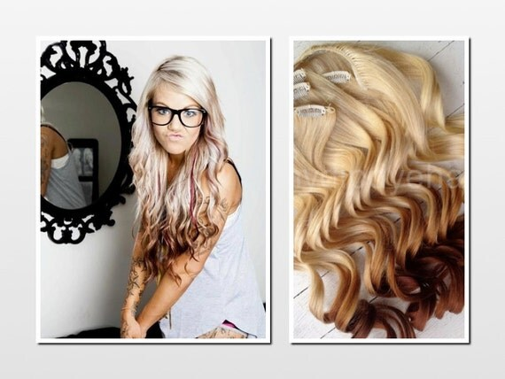 Dying dark brown hair extensions to blonde trendy hairstyles in dying dark brown hair extensions to blonde pmusecretfo Gallery