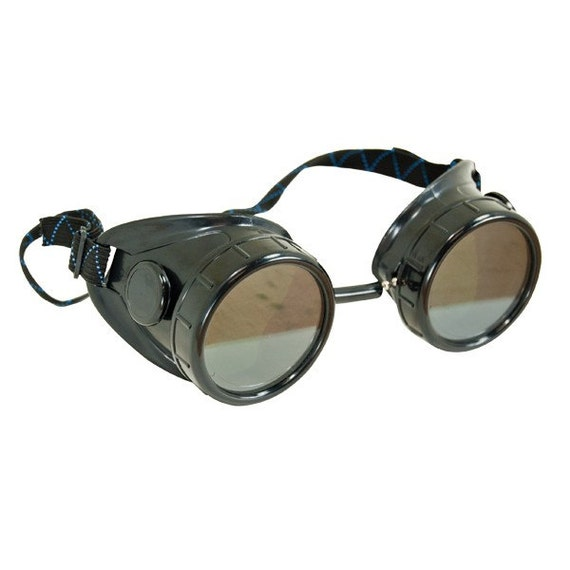 Steampunk Goggles DIY Awesomeness 2 sets of lenses