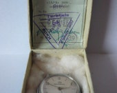 RESERVED for craftmeck69 - Original Zaria  Junoseskie  - Russian ladies mechanical watch with paper and box from 1966.