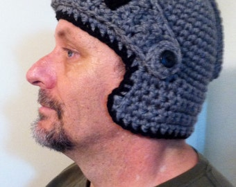 Crochet Knights Hat