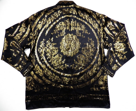 Mens Black Versace Shirt