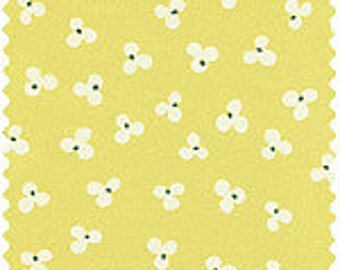 Yellow Muslin from the Old Pattern Fabric Collection by Fumika Oishi for Daiwabo