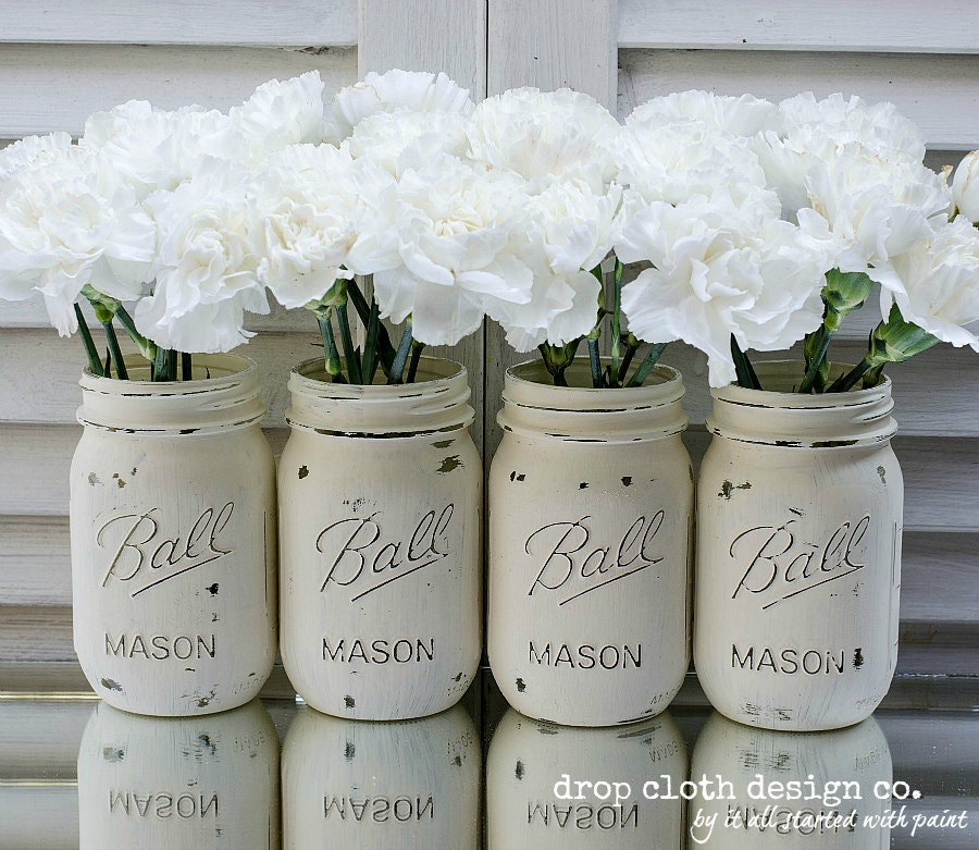 mason jars painted - photo #11