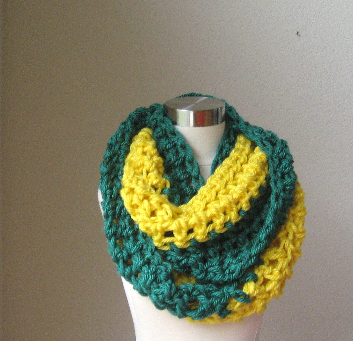 gift for him green bay packers chunky scarf winter by