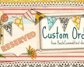 Custom Order for Katie K. - jars