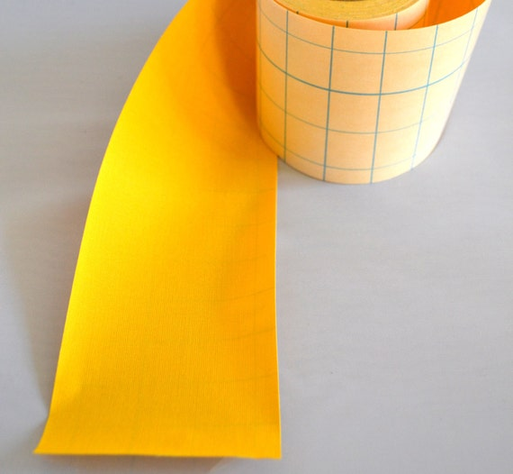 Items Similar To 1' Yellow Adhesive Fabric Book Cloth Tape