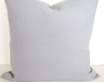 PILLOWS GRAY Throw Pillow Covers Throw pillows Solid Grey Decorative throw pillows 20x20 Home and Living Say it with Pillows Home Decor