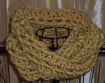 Gold Pavement Infinity Scarf