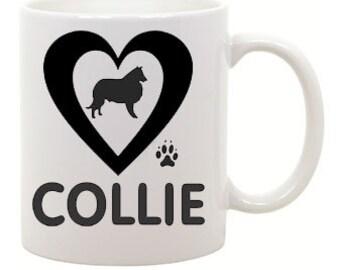 I love Collie Coffee Mug 0018