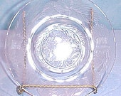 Thistle by Macbeth-Evans Pink Depression Glass Saucer