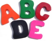 Recycled Letter Crayons - Set of 5