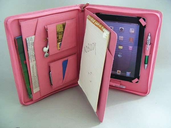 Ipad Cases Pink Pink Leather Ipad 2 Case