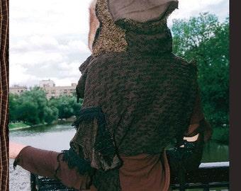 Unique designer jacket-Boho female