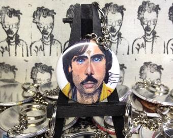 Jack Whitman Jason Schwartzman Darjeeling Limited keychain