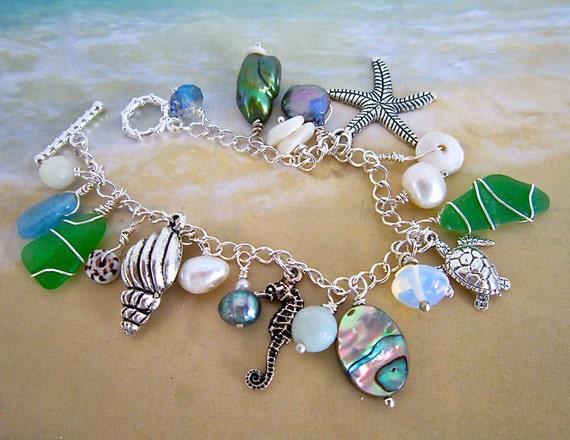 Sea Life Charm Bracelet Mermaid S Bracelet By
