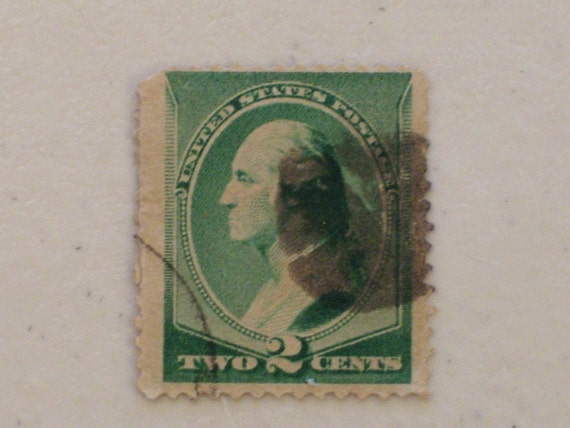 1887 19th Century Us Postage 2 Cents Stamp Scott 213 George