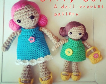 Dilly Dot: A Crochet Doll PDF Pattern