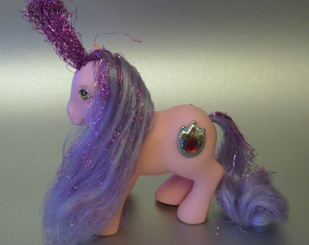 My Little Pony G1 Princess Dawn, Princess Pony, Year 6, Hoof Dated 1987