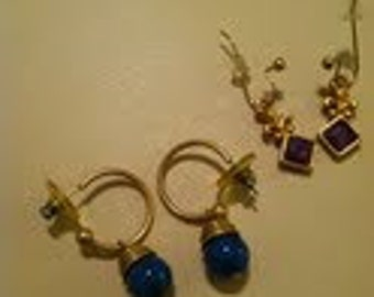 Victorian Reproduction earrings