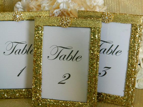 Weddings Wedding Table Numbers Table Number Holders By KPGDesigns