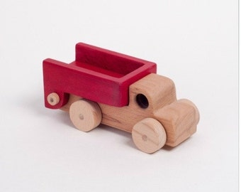 Wooden truck, wooden toys, wood toys, kids toys, toddler gift, learning toys, educational wooden toy, wooden cars, waldorf toy, truck toy