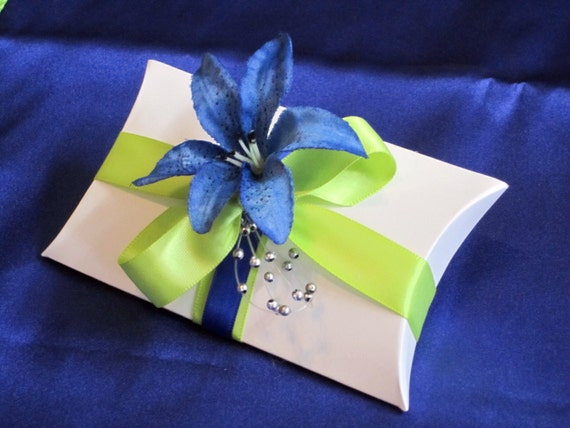 Royal Blue And Lime Green Wedding Invitations: Items Similar To Lime Green And Royal Blue Bridal Wedding