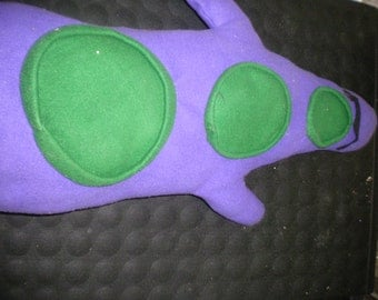 Hand Made OOAK Maniac Mansion Purple Tentacle Plush