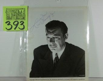 1945 Lon Chaney Jr.Signed Publicity Photo