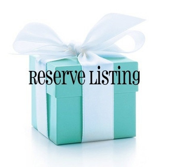 Reserve Listing for Brittany B