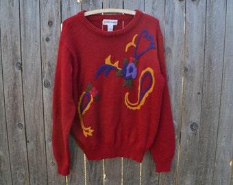 Vintage Alfred Dunner Sweater Large