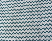 Indian Cotton Block Printed / Stamped Fine Soft Chevron Fabric Sold by Yard