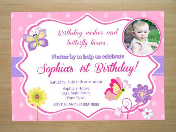 Butterfly Birthday Invitation Wording was amazing invitation layout