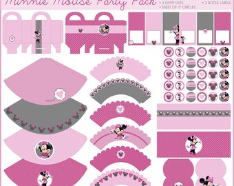 Popular items for party minnie mouse on Etsy