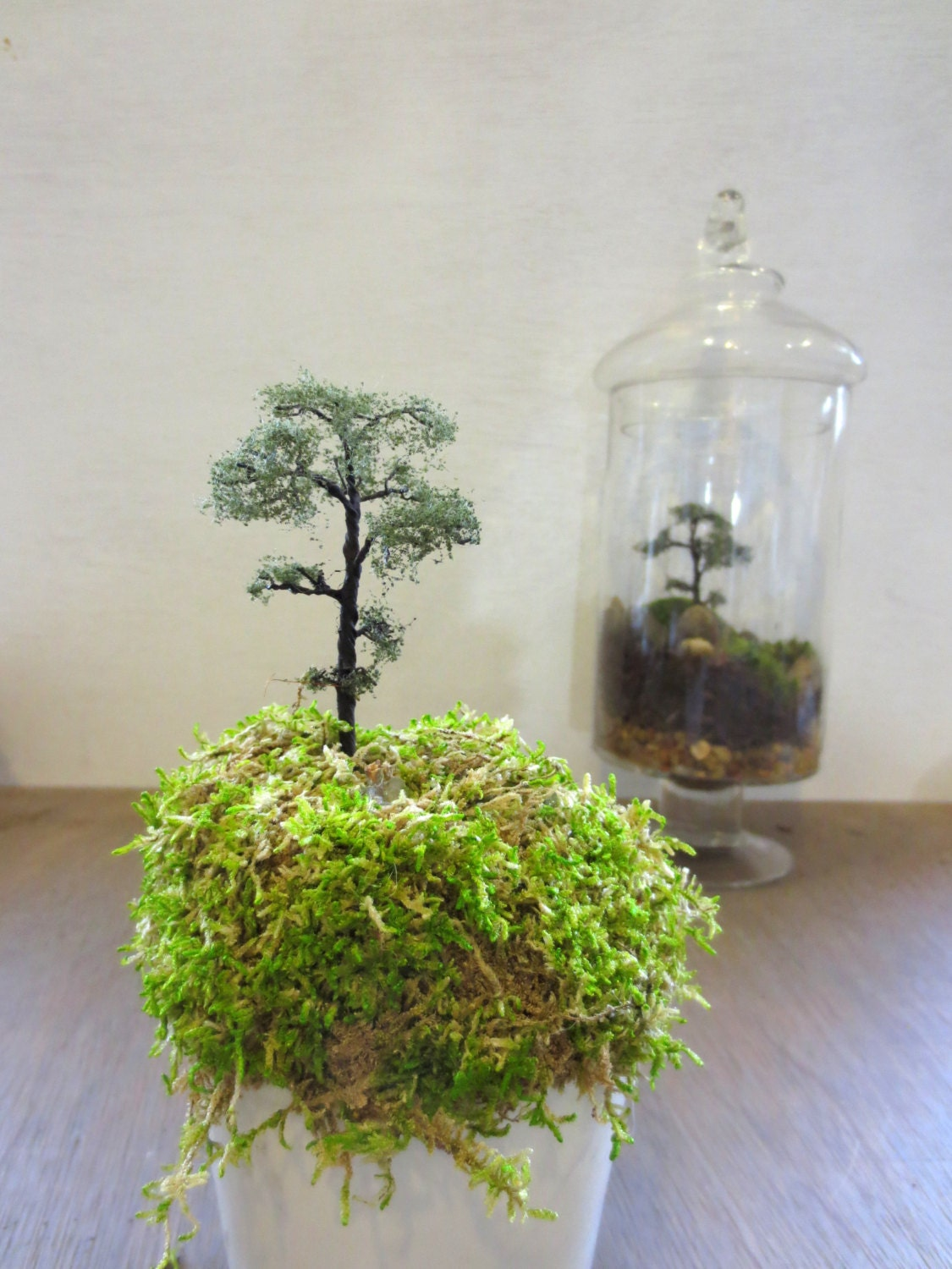 over the hills miniature tree terrarium accessory by faerienest. Black Bedroom Furniture Sets. Home Design Ideas